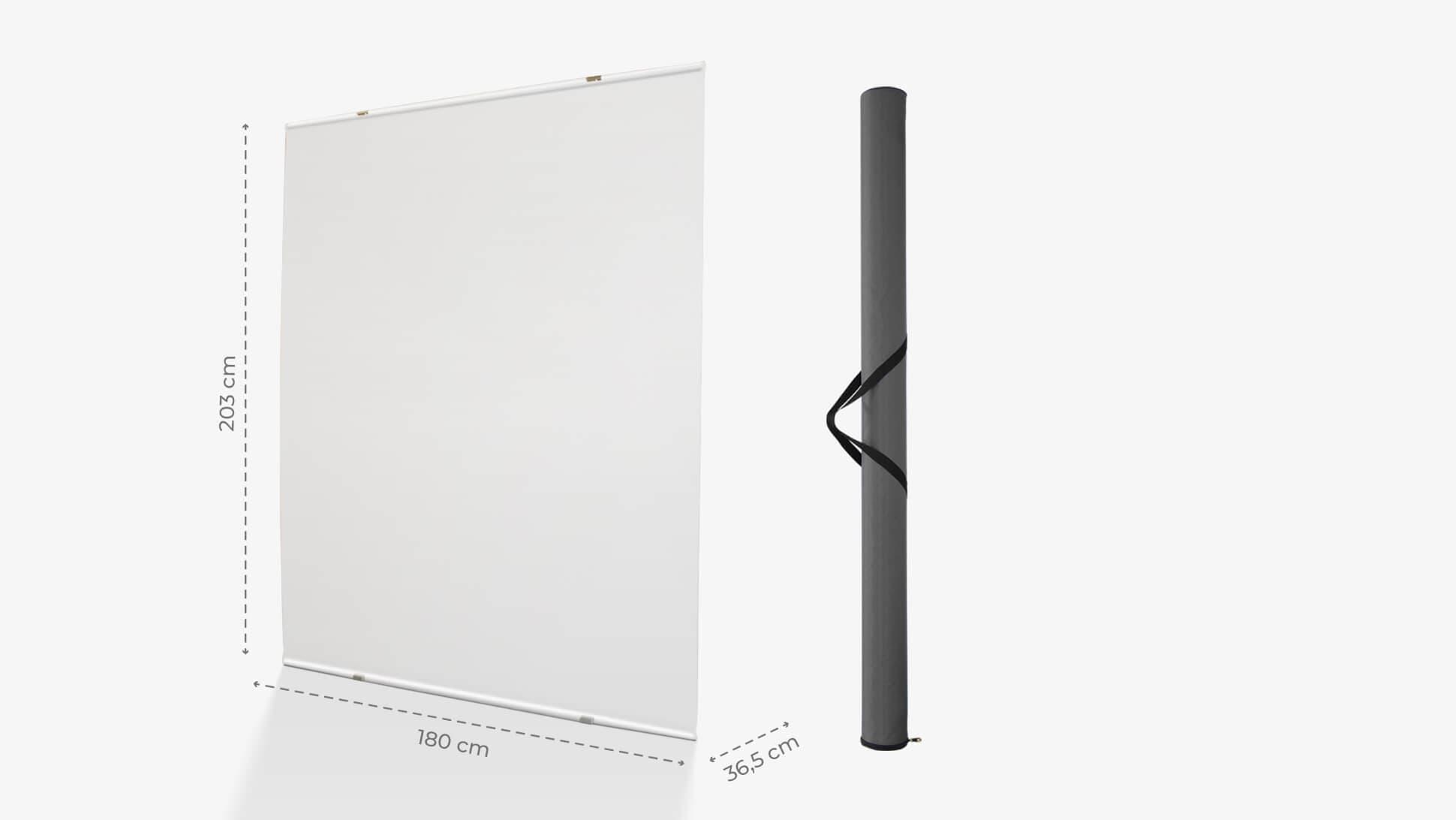 Display Maxi 88 con struttura in alluminio e poster monofacciale | tictac.it