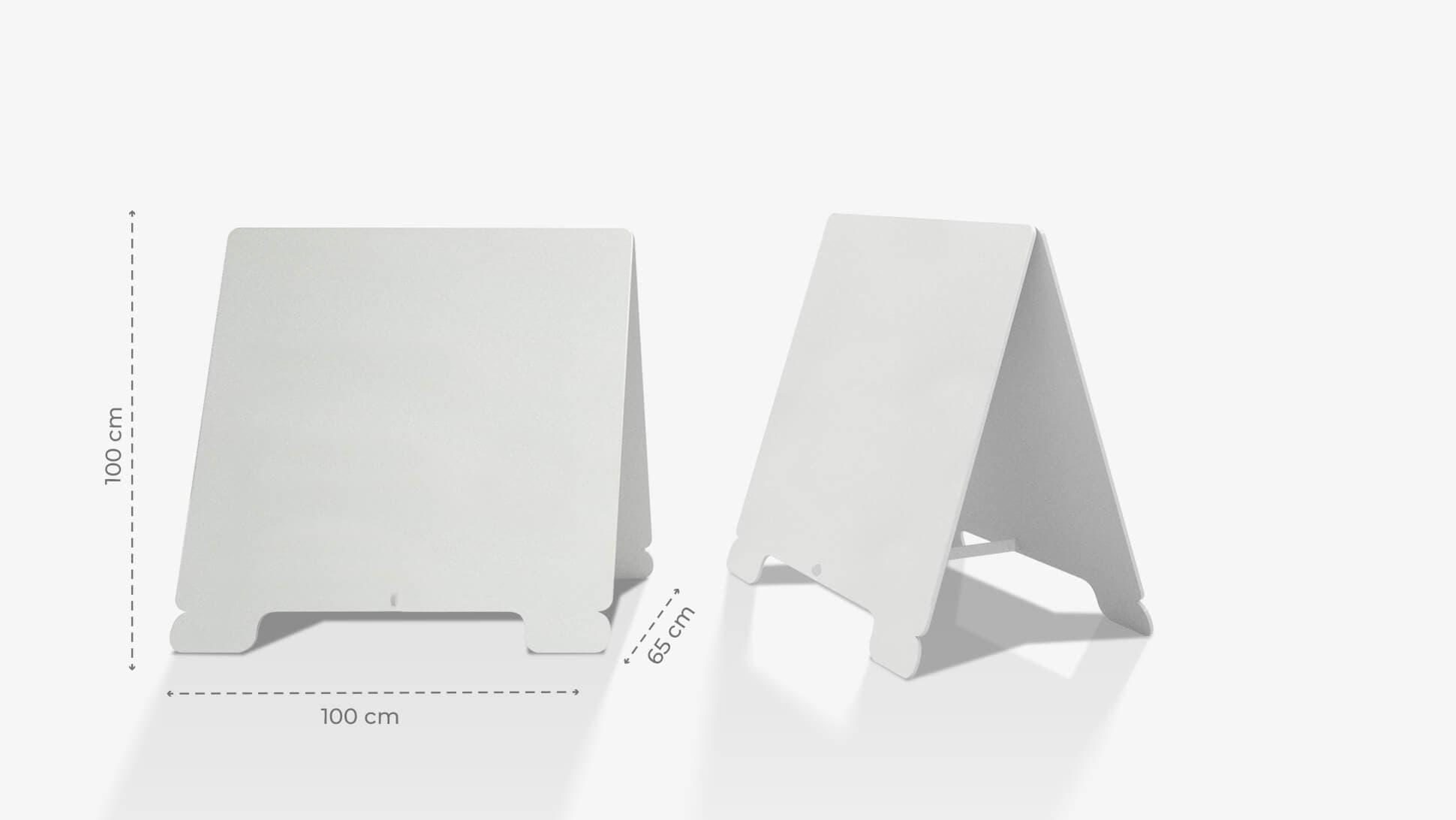 Cavalletto in polionda 100x100 cm personalizzabile | tictac.it