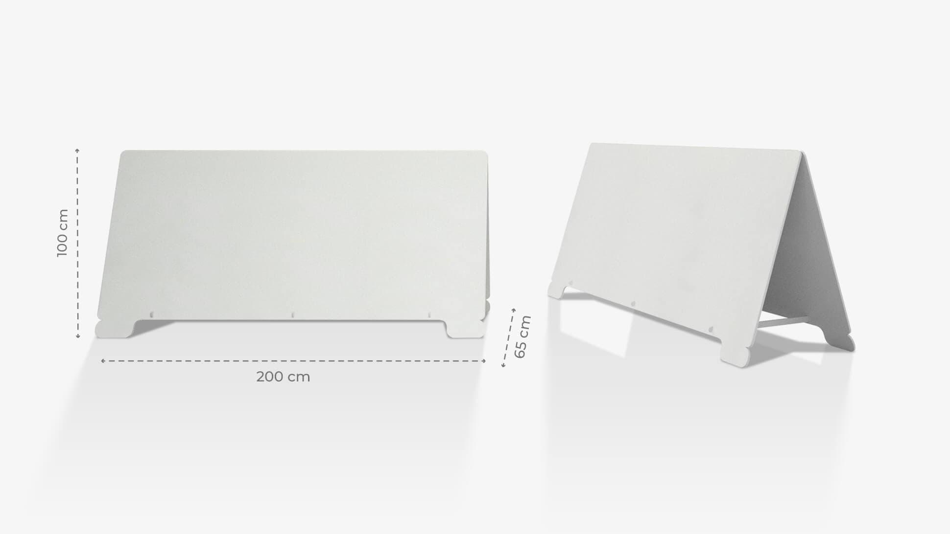 Cavalletto in polionda 100x200 cm personalizzabile | tictac.it