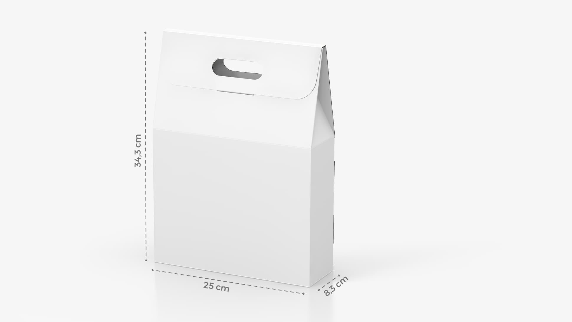 Scatola per bottiglia di vino 25x34,3 cm personalizzabile | tictac.it