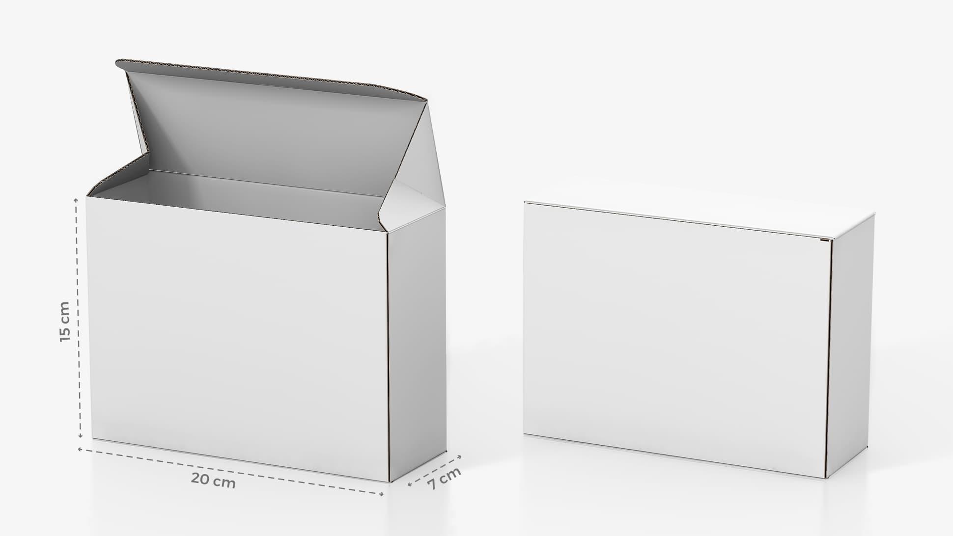 Scatola in cartone 20x15 cm personalizzabile | tictac.it