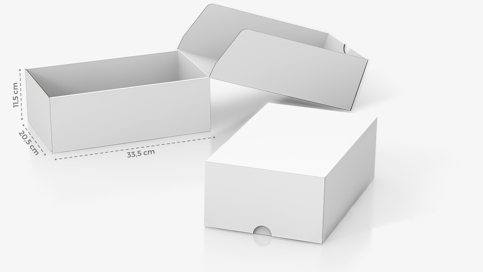 Scatola in cartone 33,5x11,5 cm personalizzabile | tictac.it