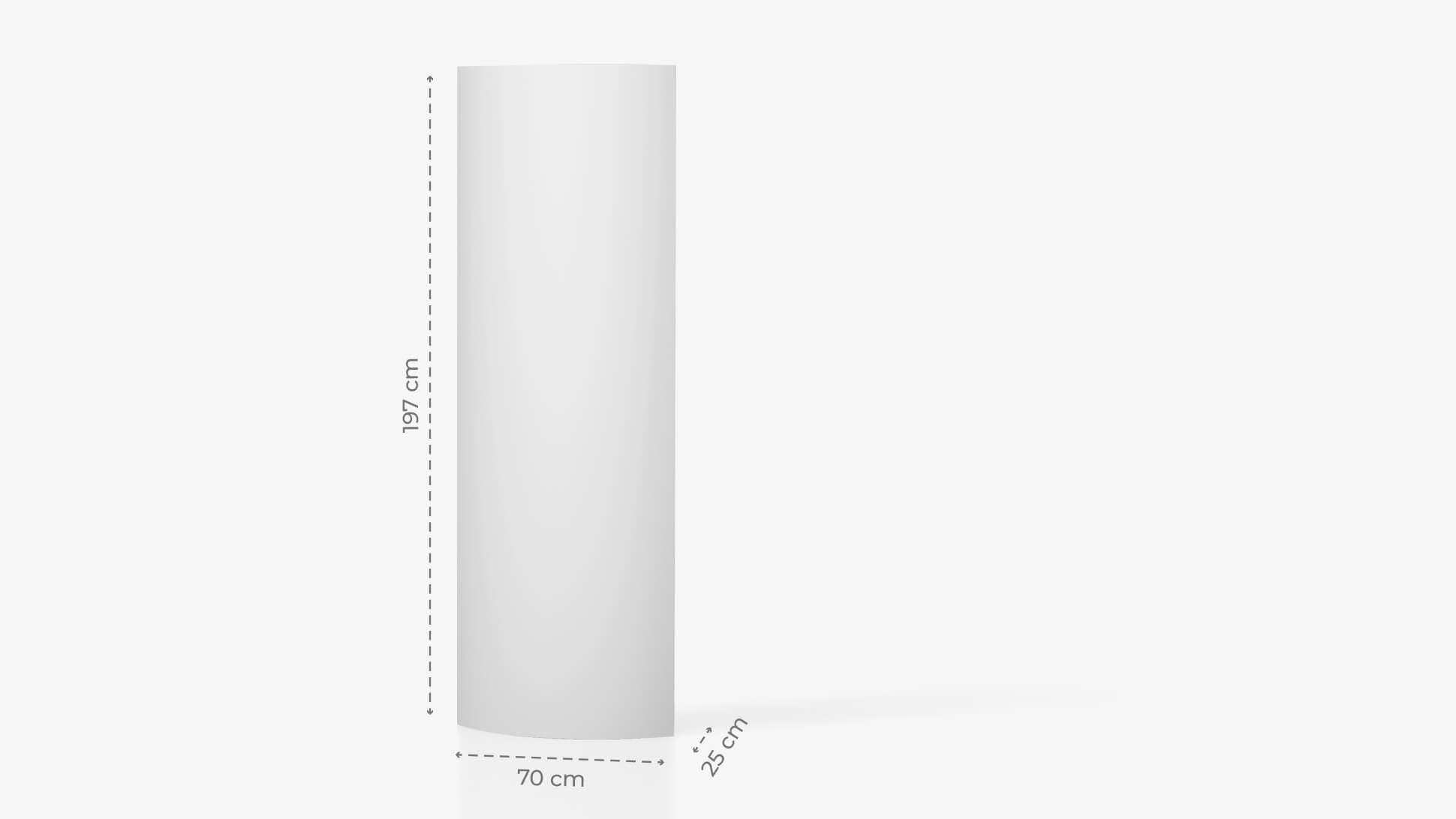 Display rigido h197 cm personalizzabile | tictac.it