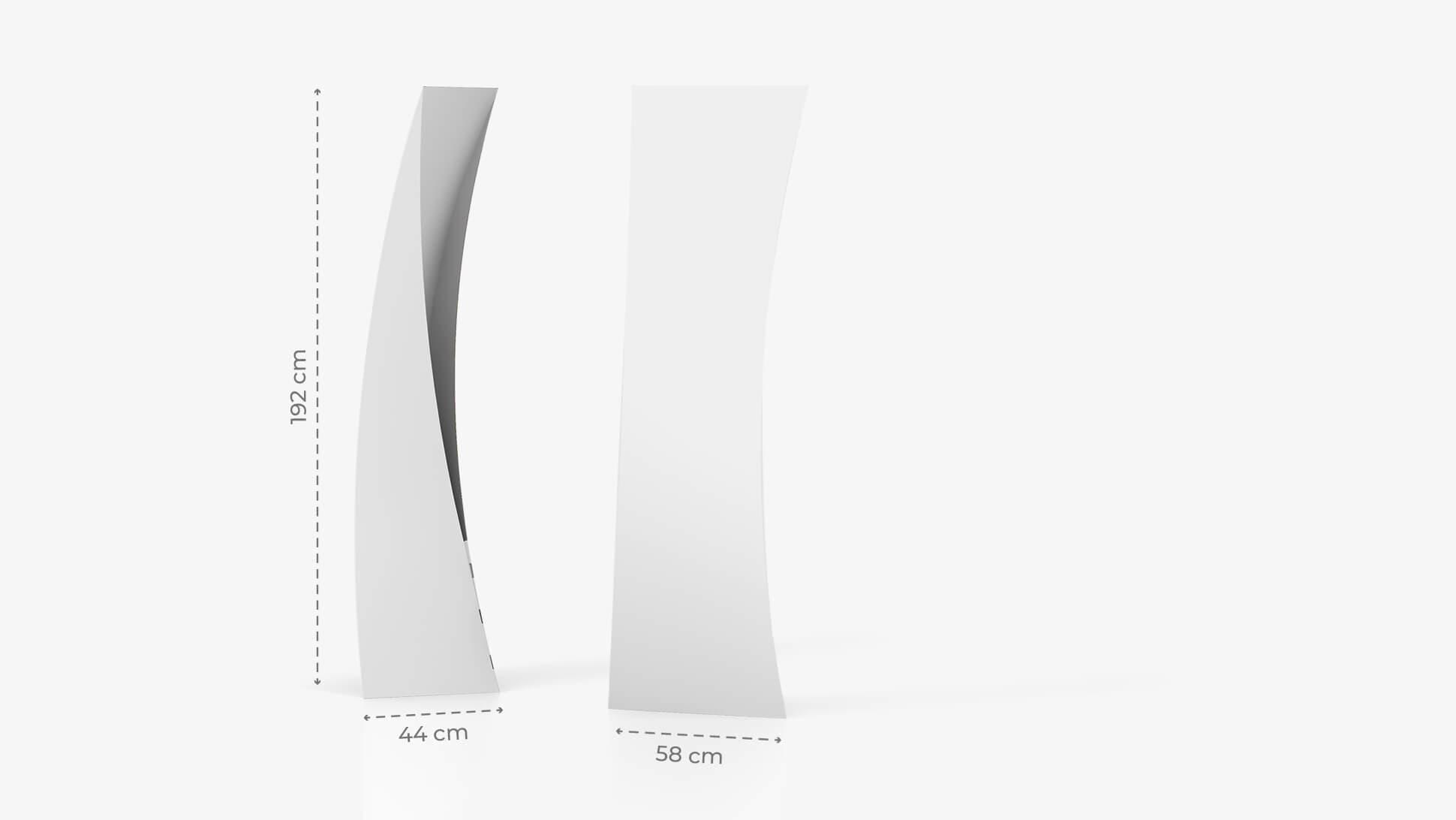 Totem pubblicitario personalizzato 192x58cm | tictac.it