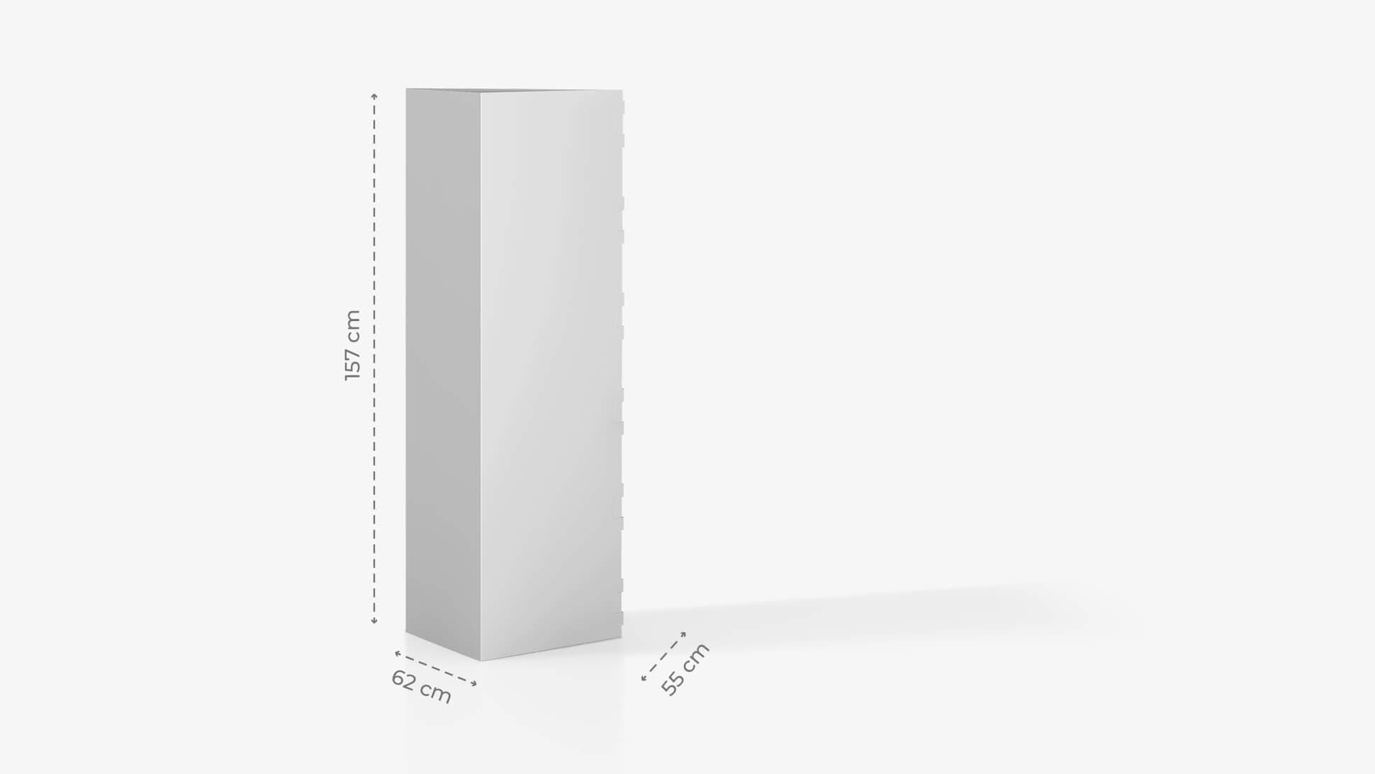 Espositore h157 cm grafica personalizzabile | tictac.it