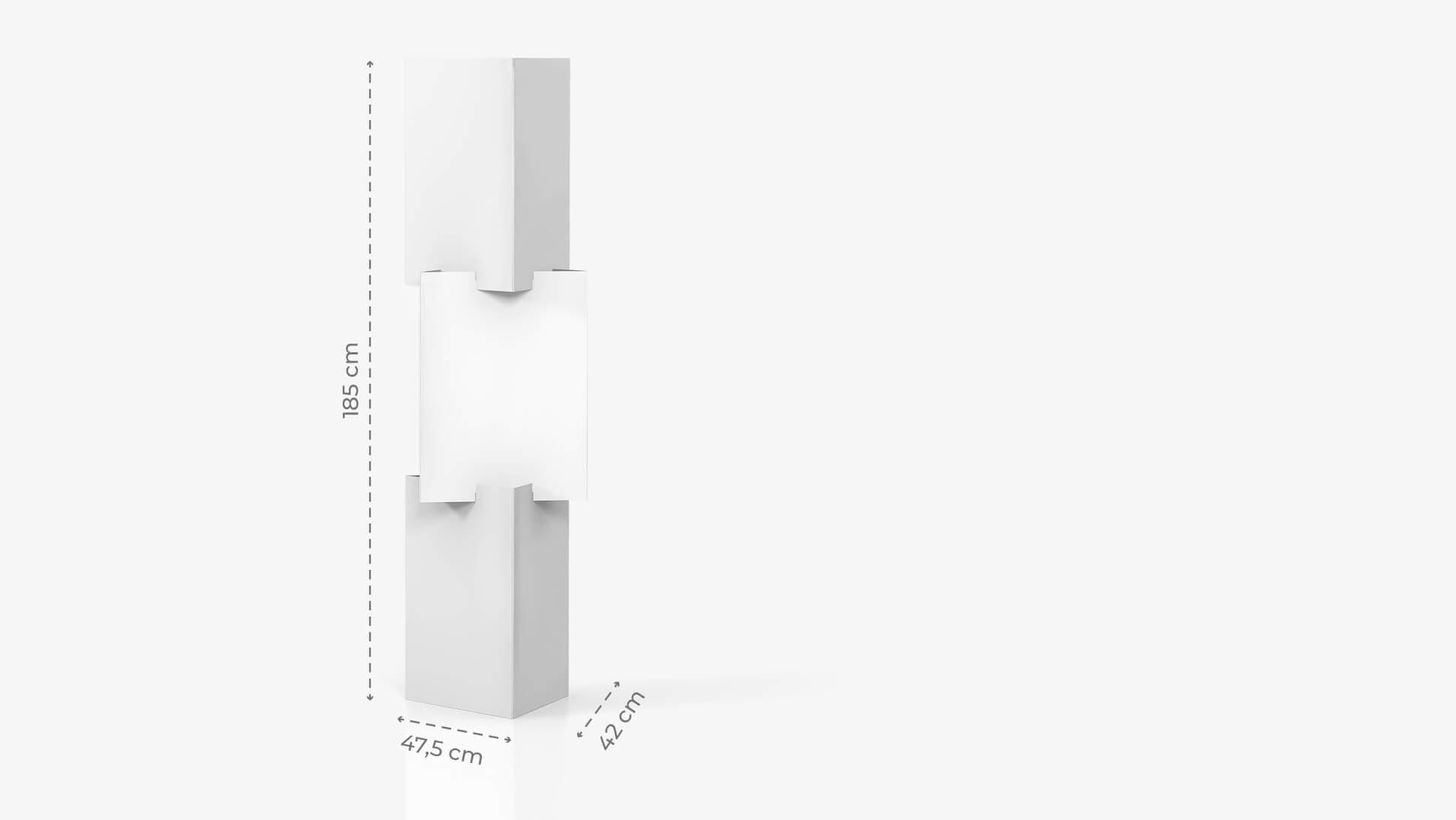 Espositore con tris di cubi personalizzabile | tictac.it