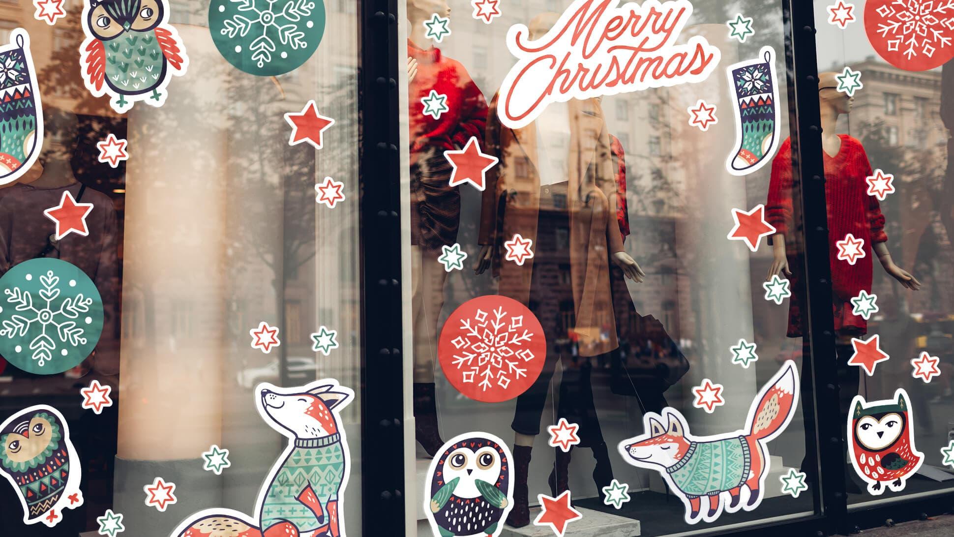 adesivi per vetrine ideali per negozi e locali | tictac.it