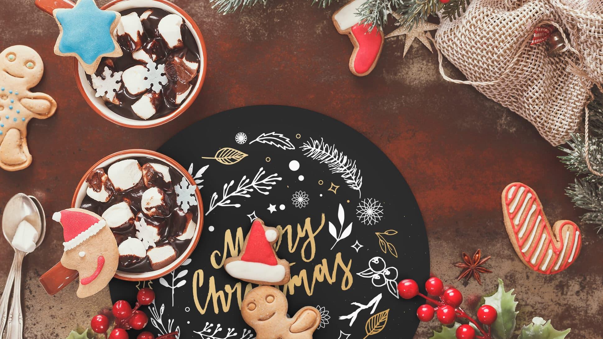 tovaglietta tonda natalizia per colazione | tictac.it