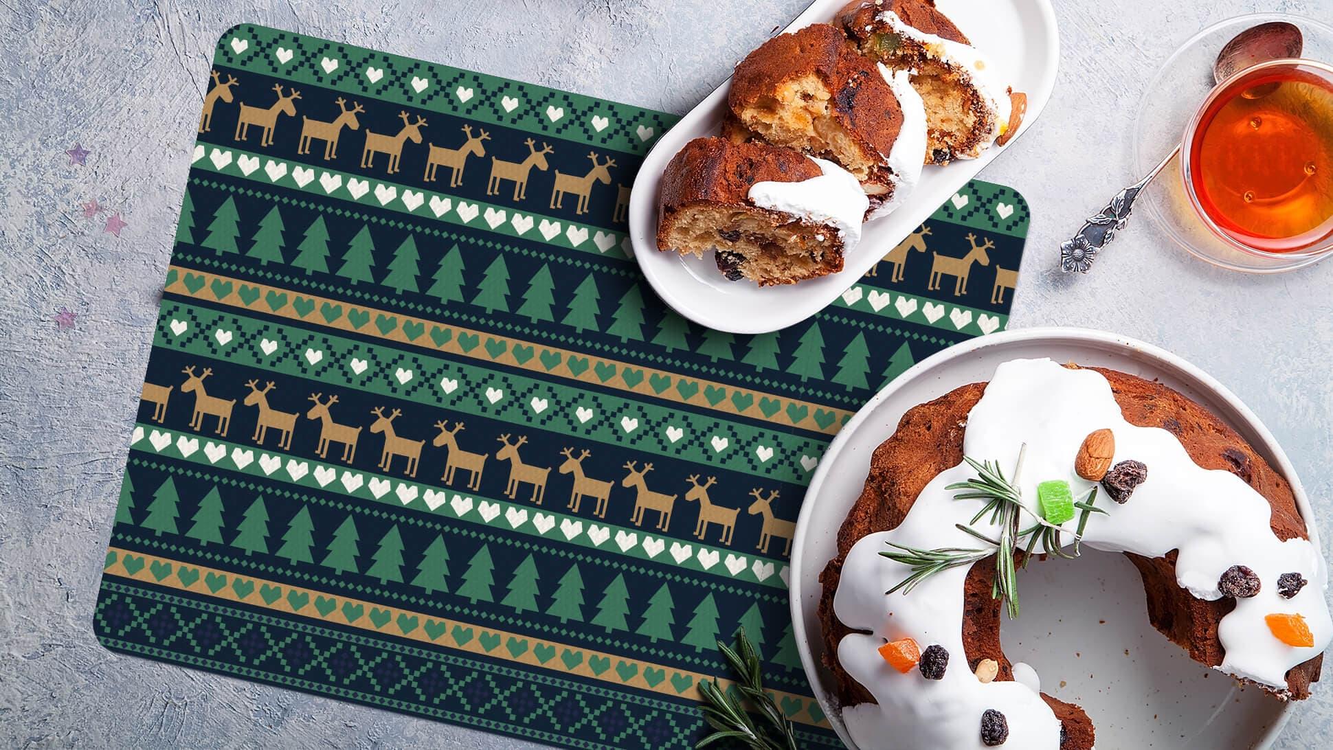 Tovagliette per festività natalizie ideali per ristoranti | tictac.it