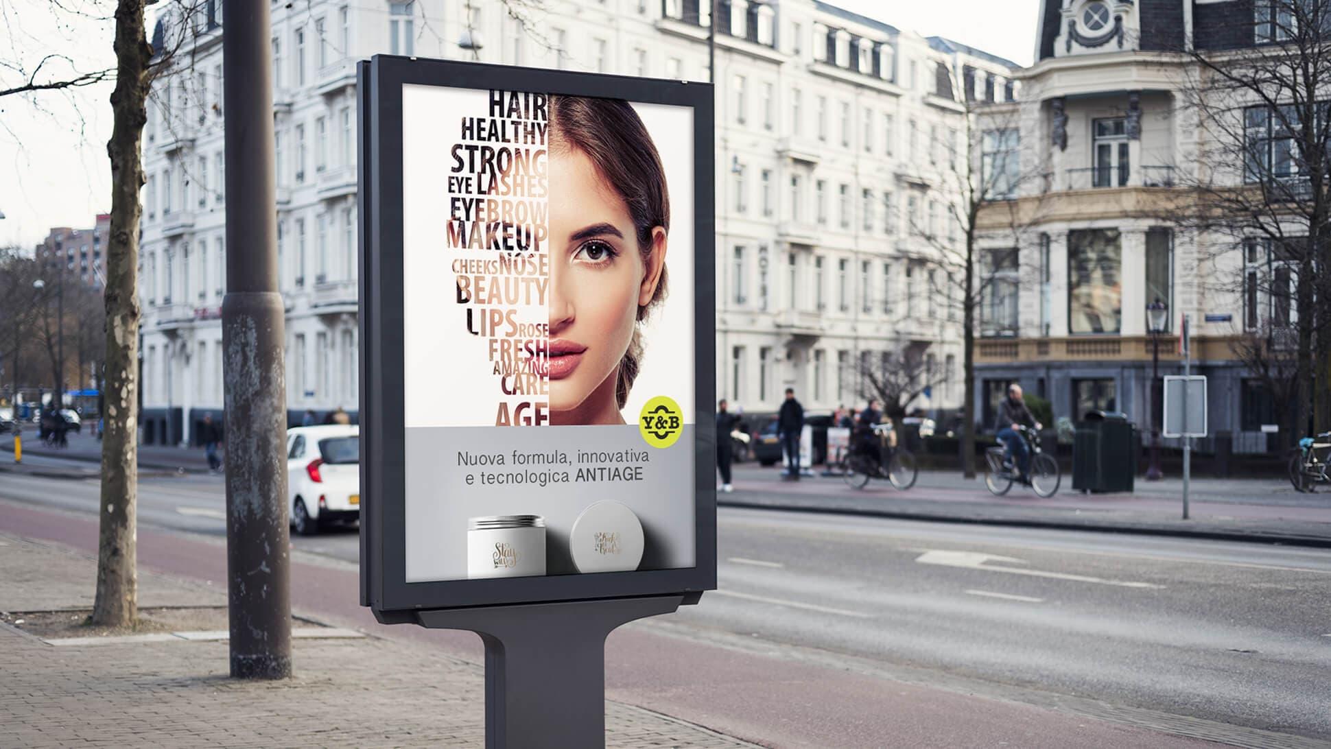 Manifesto a formato 70x100 cm per applicazioni stradali | tictac.it