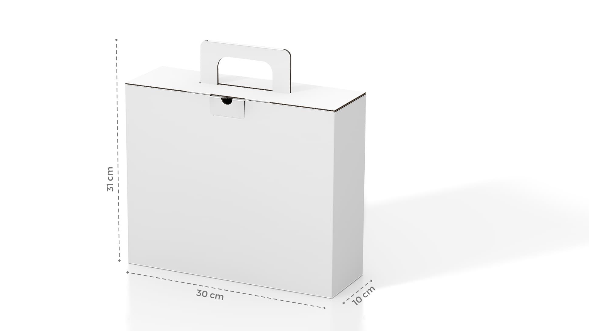 Scatola in cartone 30x31 cm personalizzabile | tictac.it