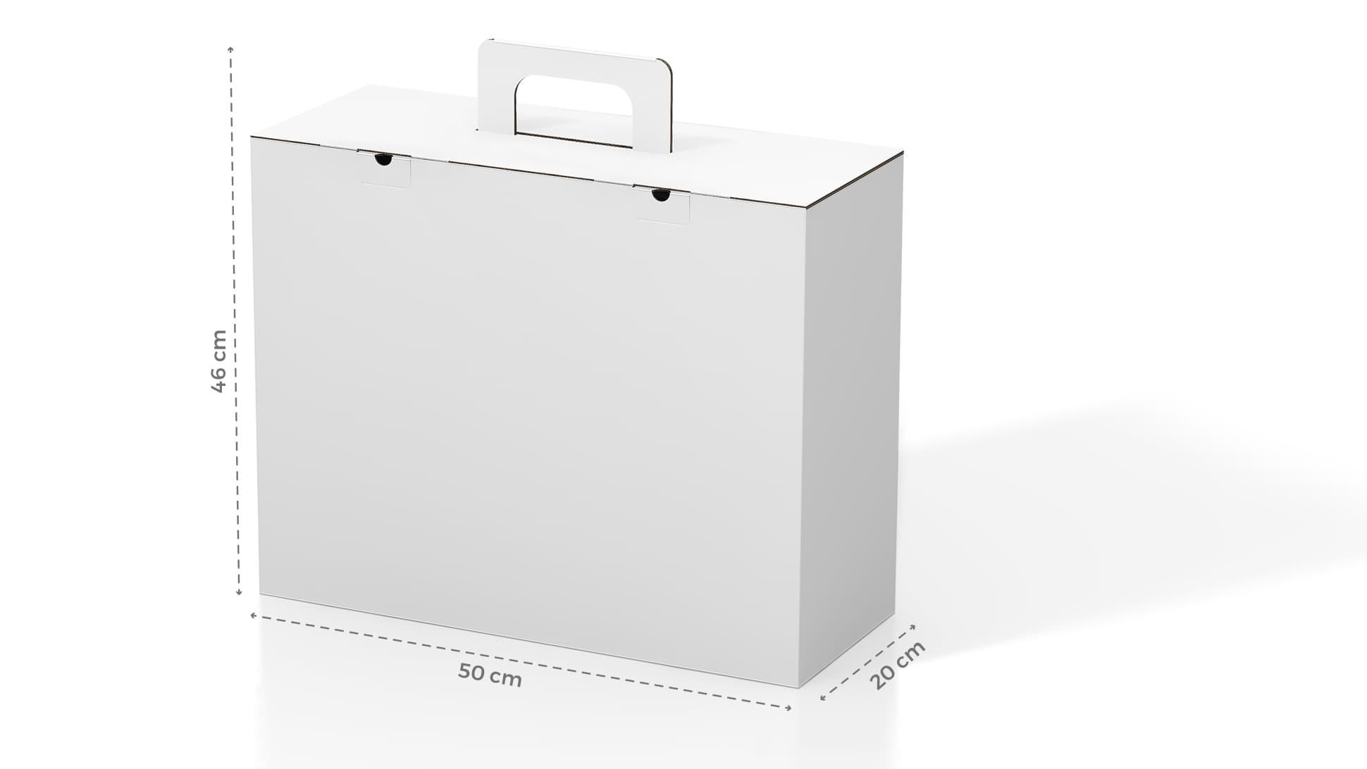 Borsetta in cartone personalizzabile | tictac.it