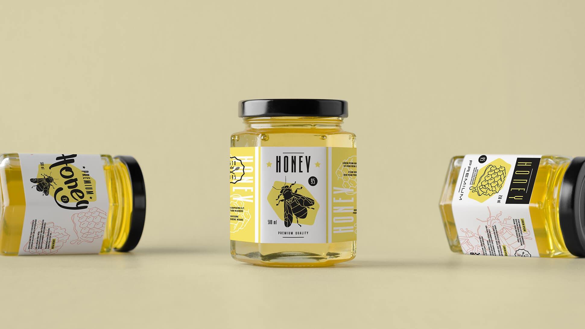 Etichette per vasetti di miele personalizzate | tictac.it