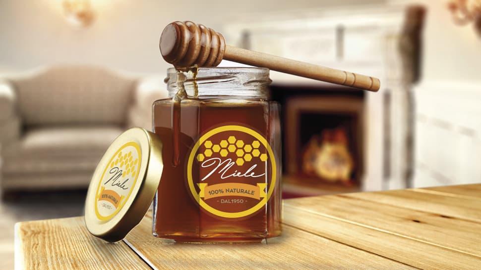 Etichette idrorepellenti per vasetti di miele | tictac.it