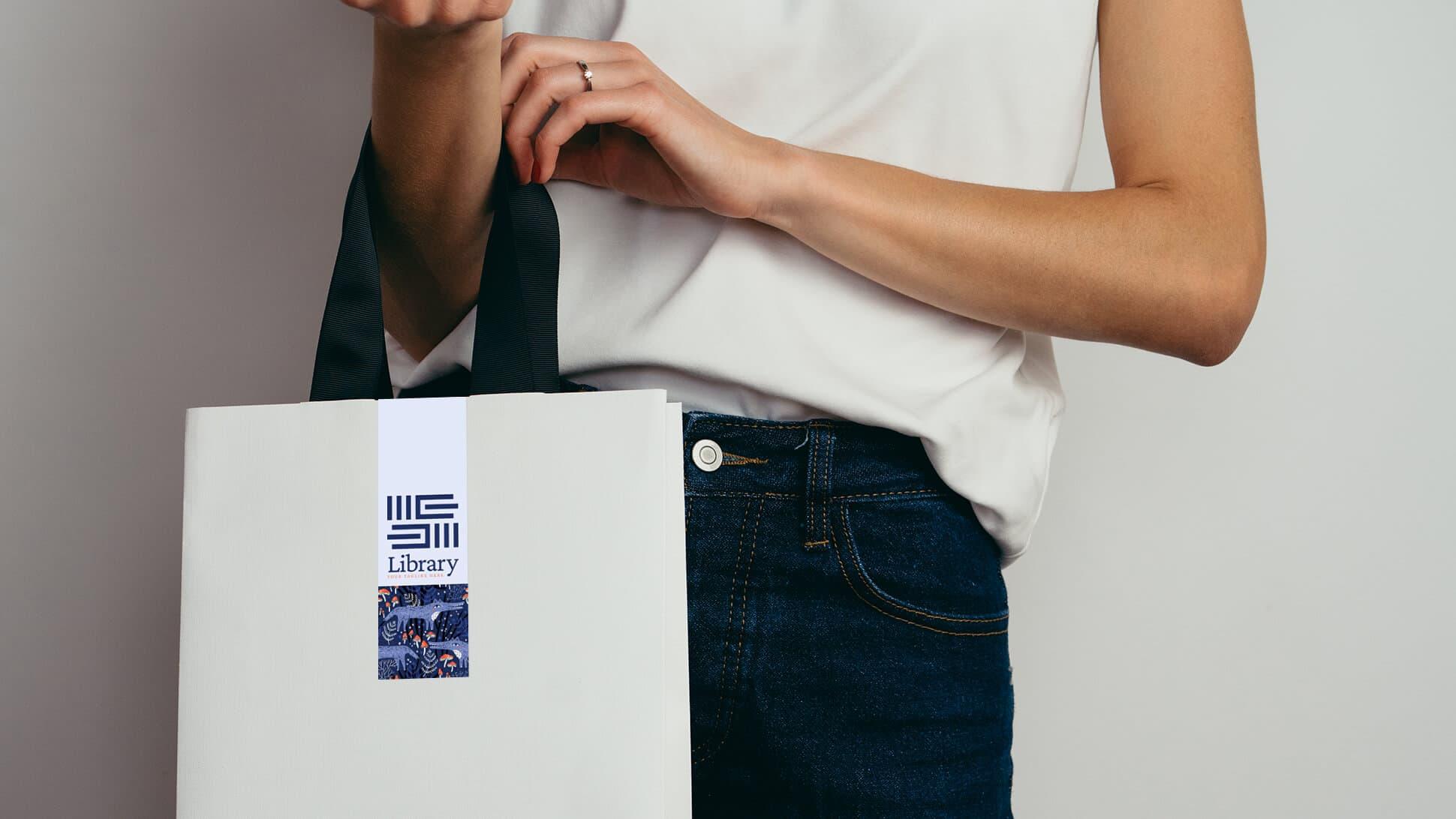 Adesivi chiudi busta personalizzabili per shopper | tictac.it