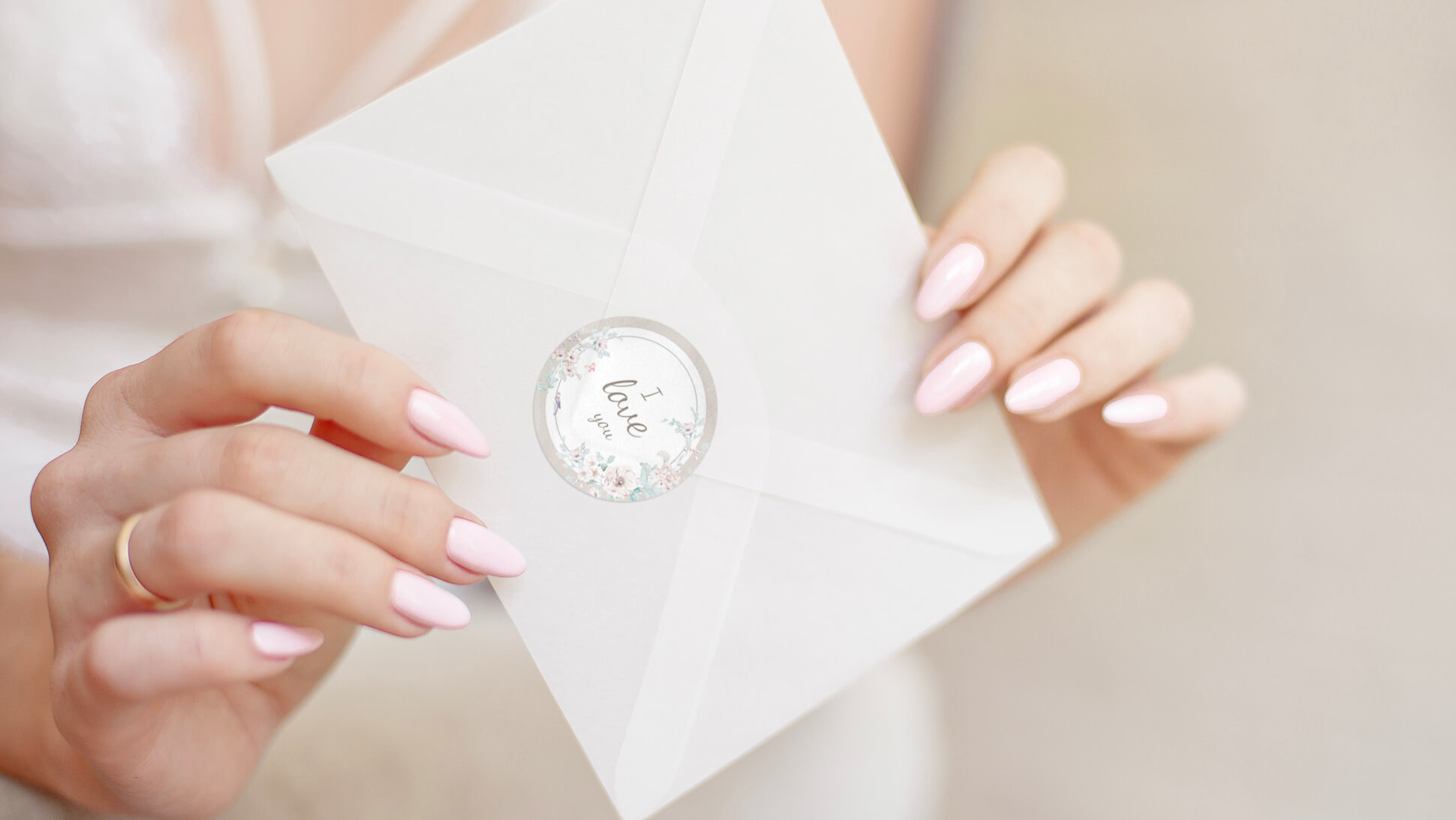 Adesivi chiudi busta per matrimonio | tictac.it