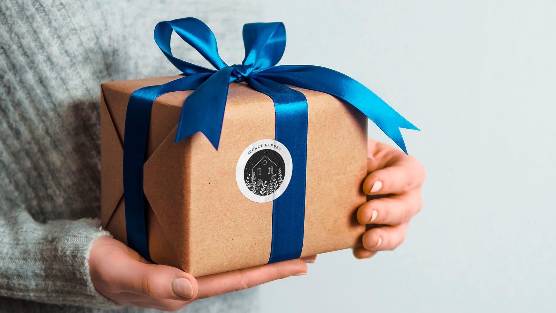 Chiudipacco adesivi per confezioni regalo | tictac.it