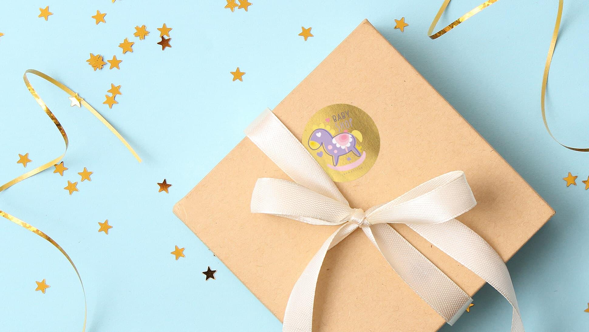 Chiudipacco personalizzati per pacchetti regalo | tictac.it