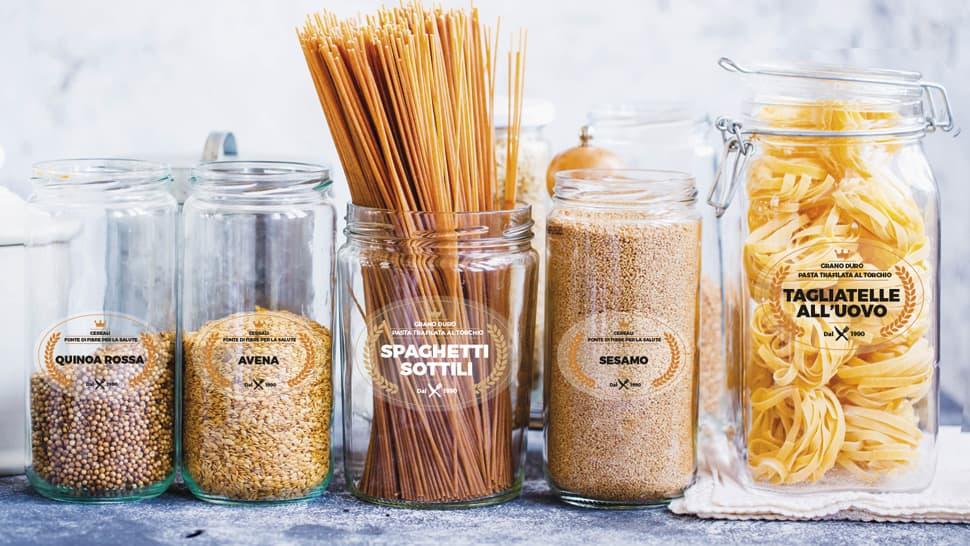 Etichette per barattoli di pasta | tictac.it