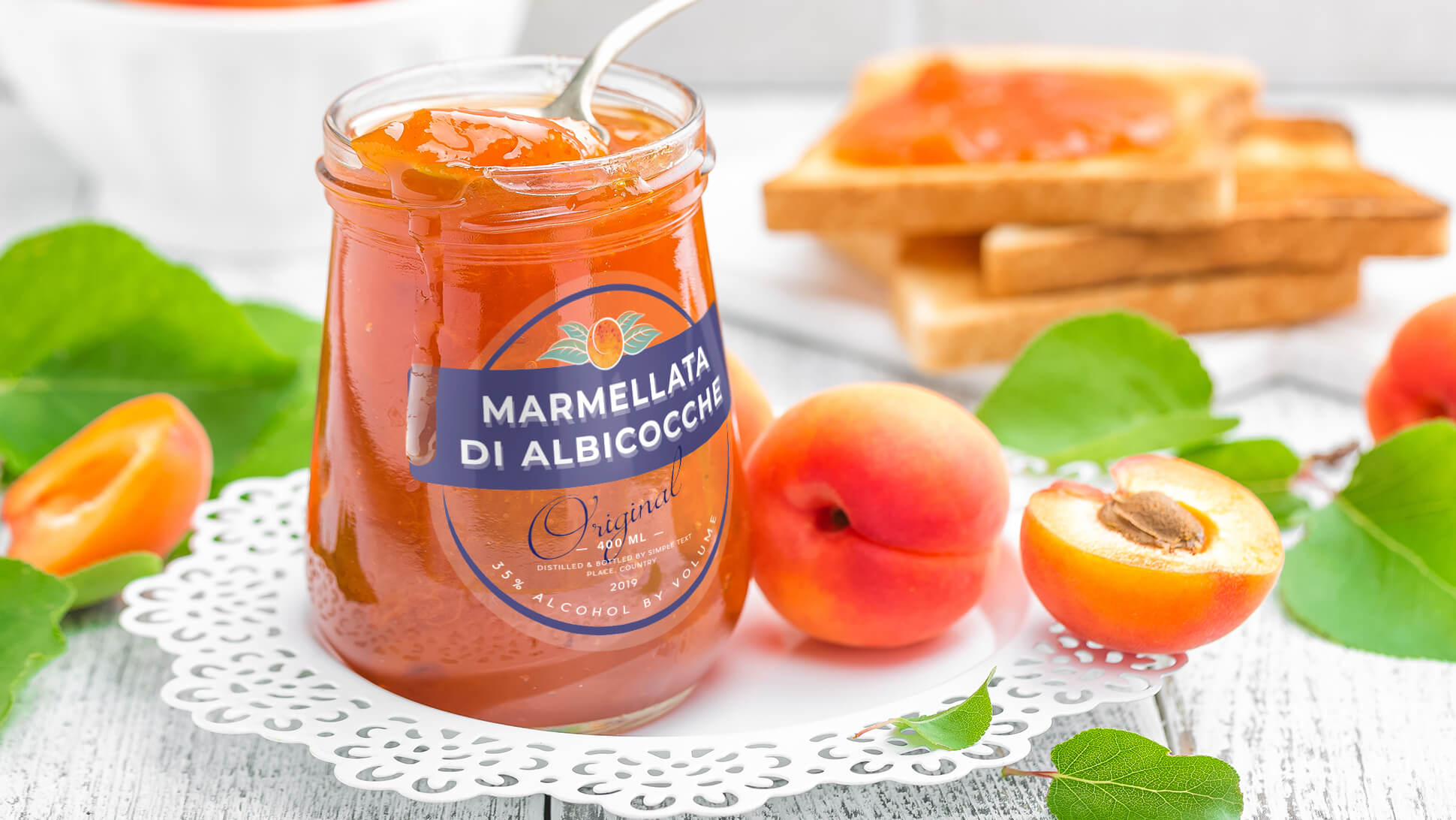 Etichette per vasetti di marmellate, conserve, sottaceti | tictac.it