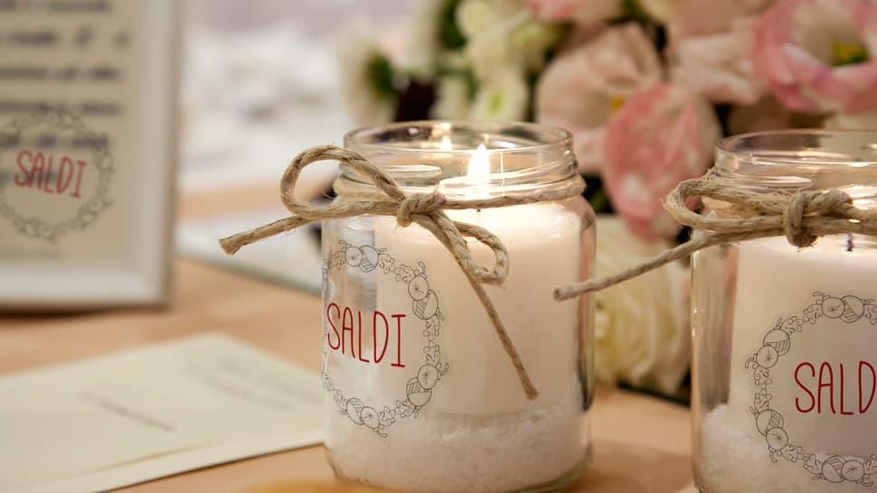 Etichette in bobina per candele in vasetto | tictac.it