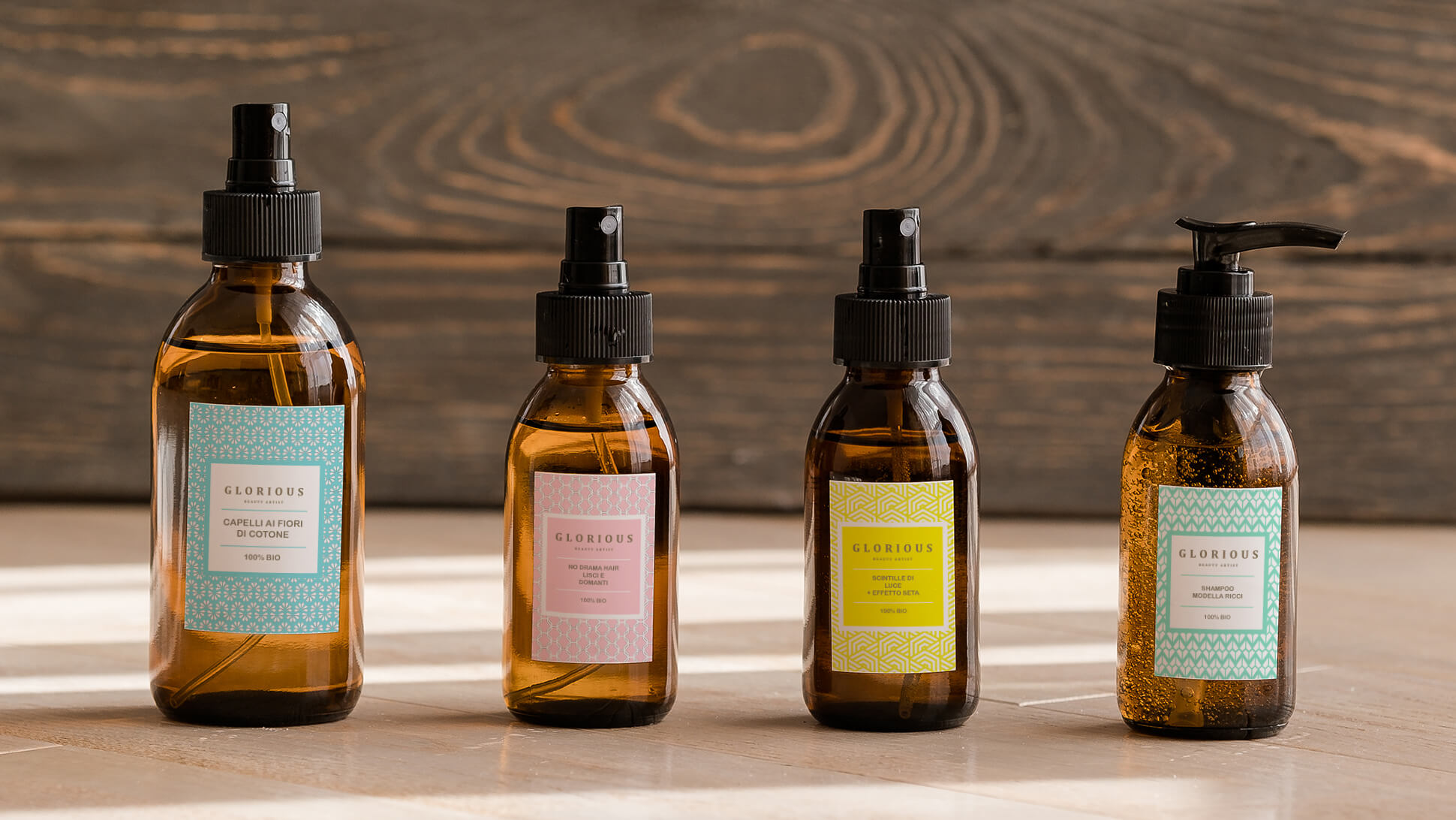 Etichette per bottiglie e flaconi di prodotti per capelli e cosmesi | tictac.it