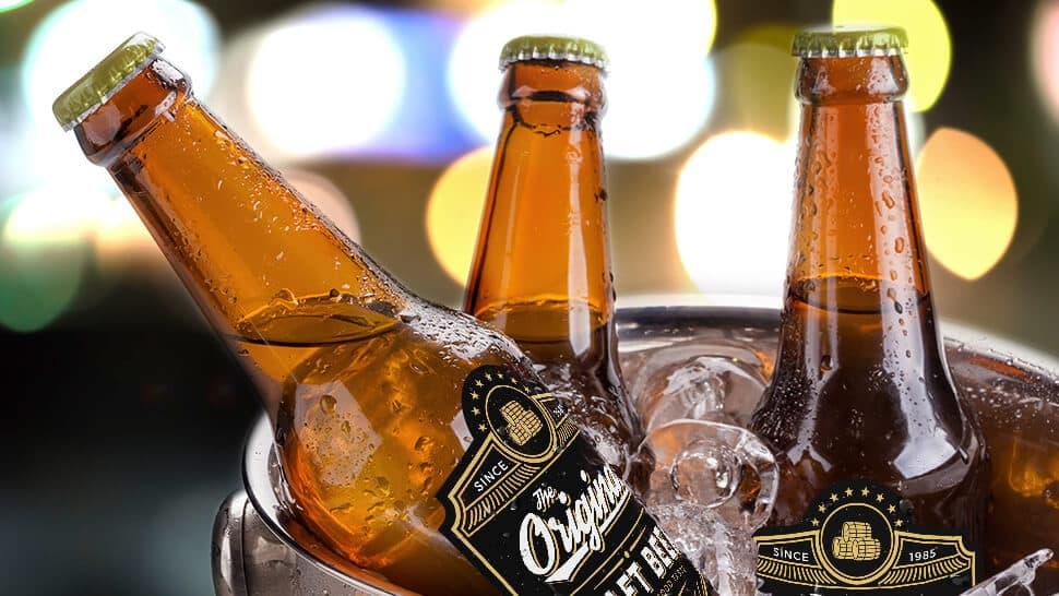 Etichette in polipropilene bianco per bottiglie di birra | tictac.it