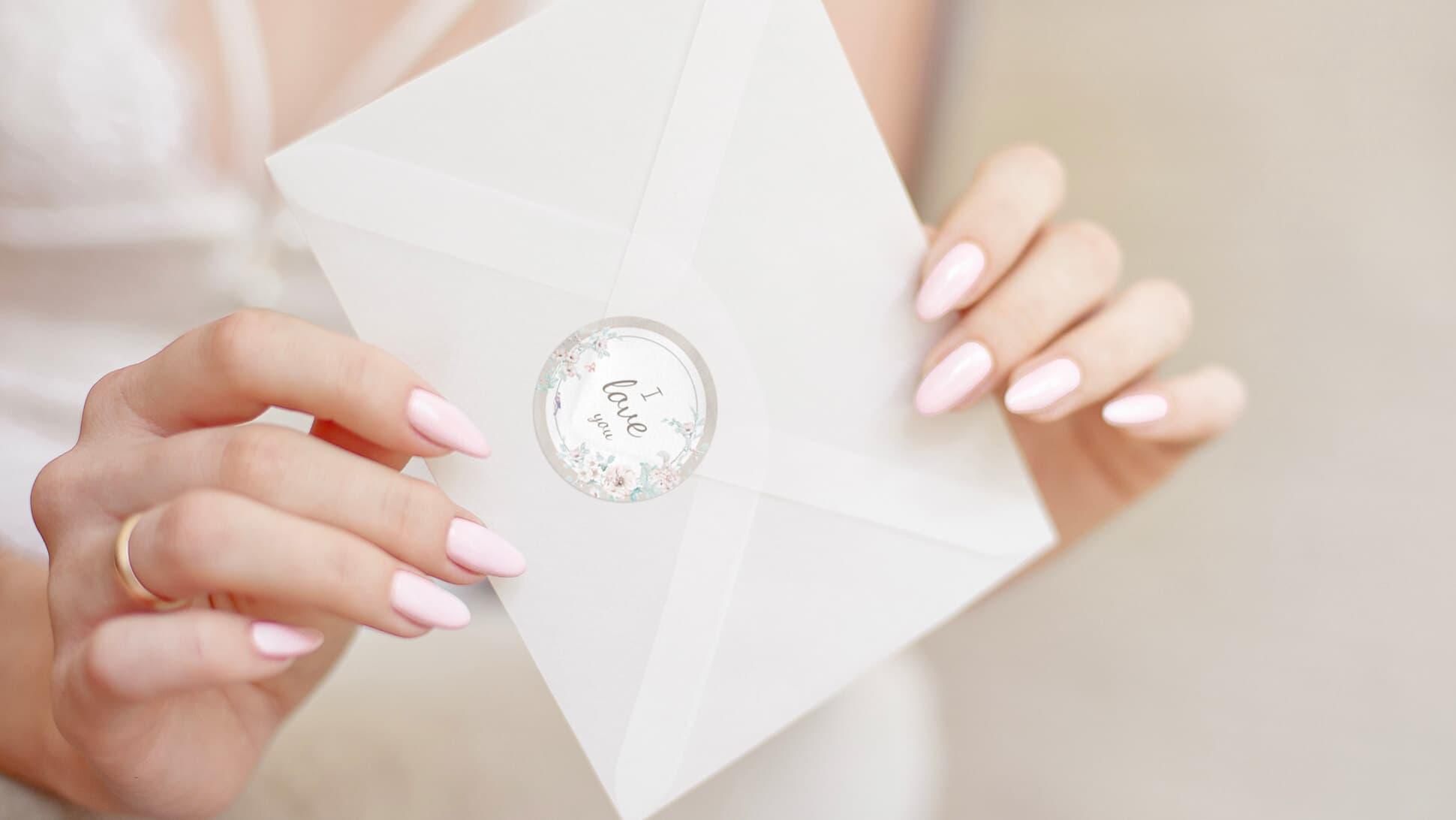 Etichetta personalizzabile per matrimoni in carta | tictac.it
