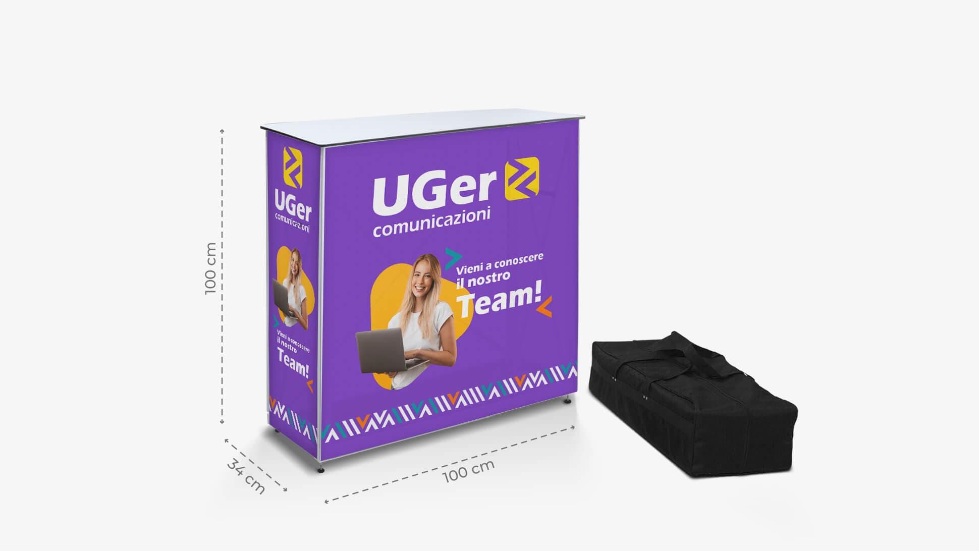 Desk promozionale con borsone | tictac.it