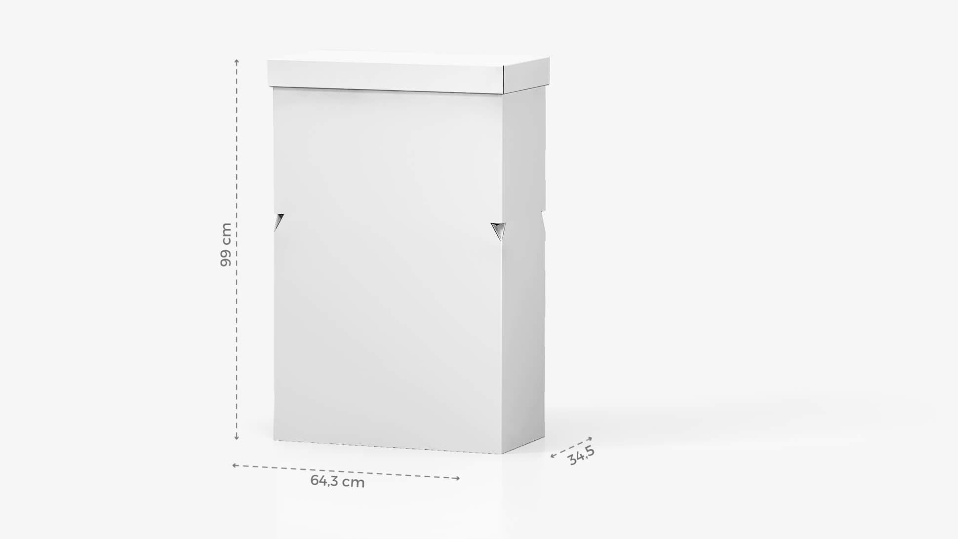 Desk in cartone personalizzabile 99x64 cm | tictac.it