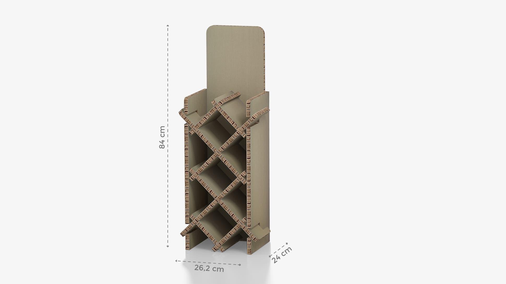 Portabottiglie piccolo con grafica personalizzabile | tictac.it