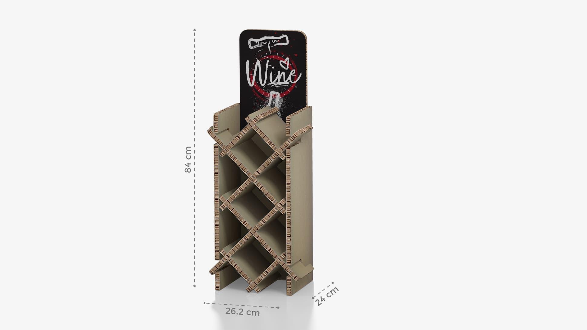 Portabottiglie piccolo con grafica personalizzata | tictac.it