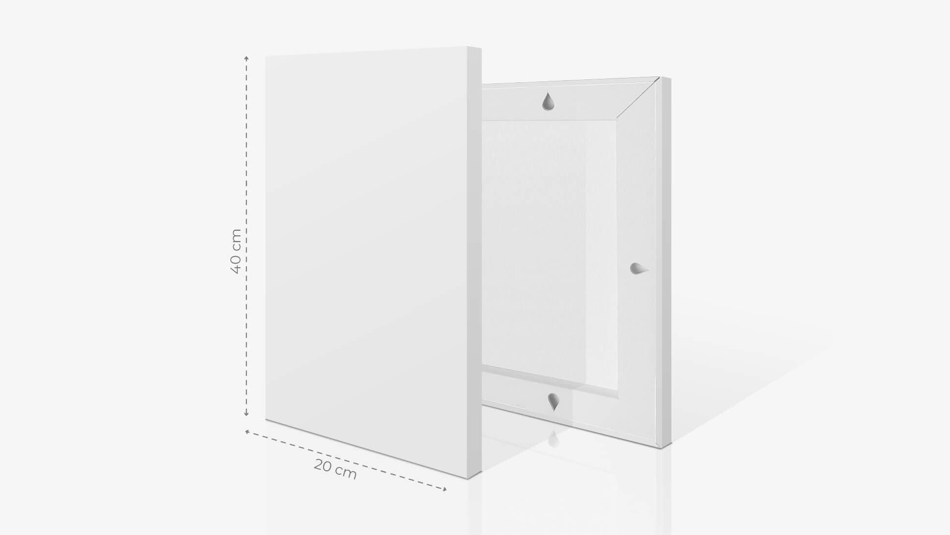 Fotoquadro 20x40 cm | tictac.it