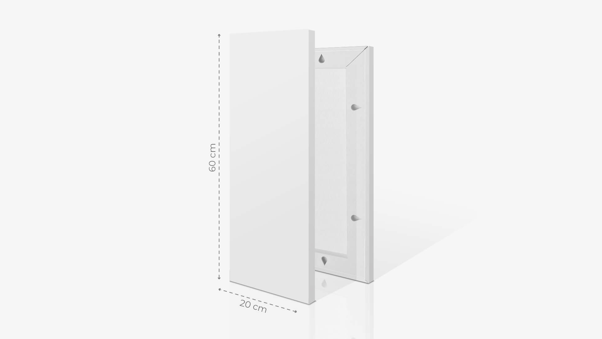 Fotoquadro 20x60 cm | tictac.it