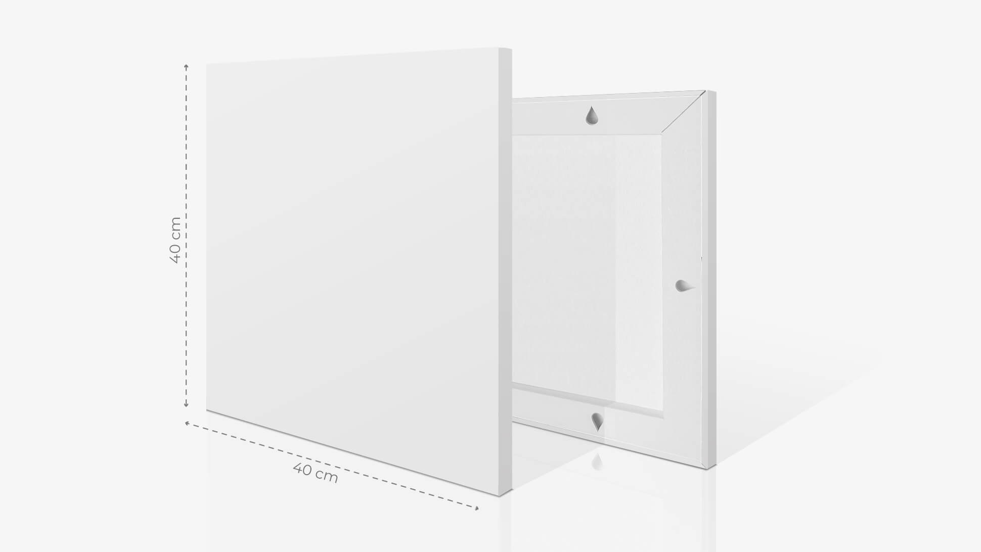 Fotoquadro 40x40 cm | tictac.it