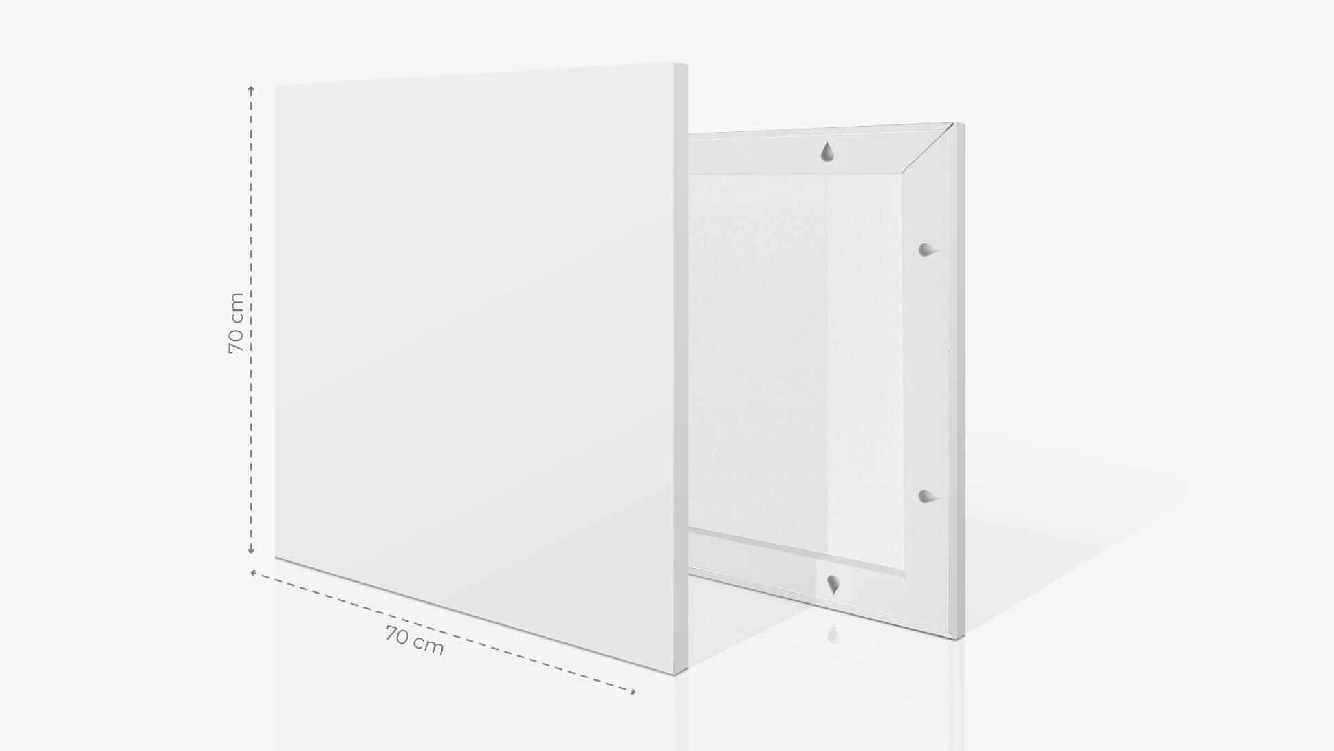 Fotoquadro 70x70 cm | tictac.it