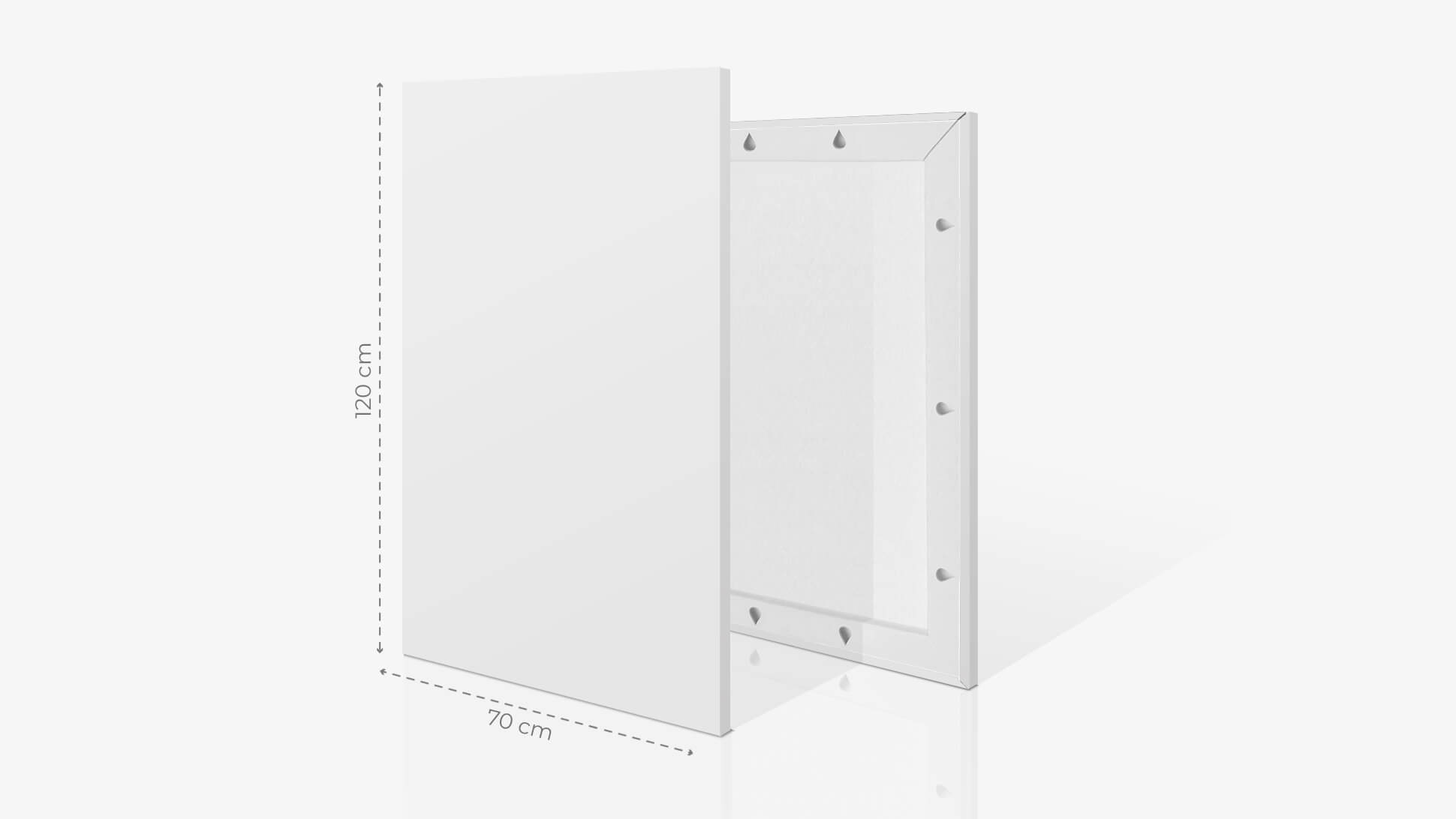 Fotoquadro 70x120 cm | tictac.it