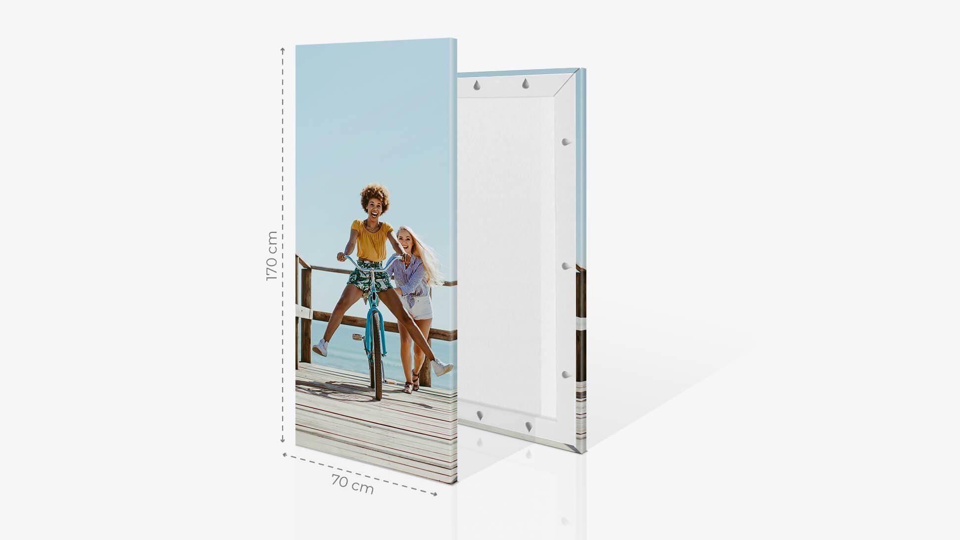 Fotoquadro 70x170cm con grafica | tictac.it
