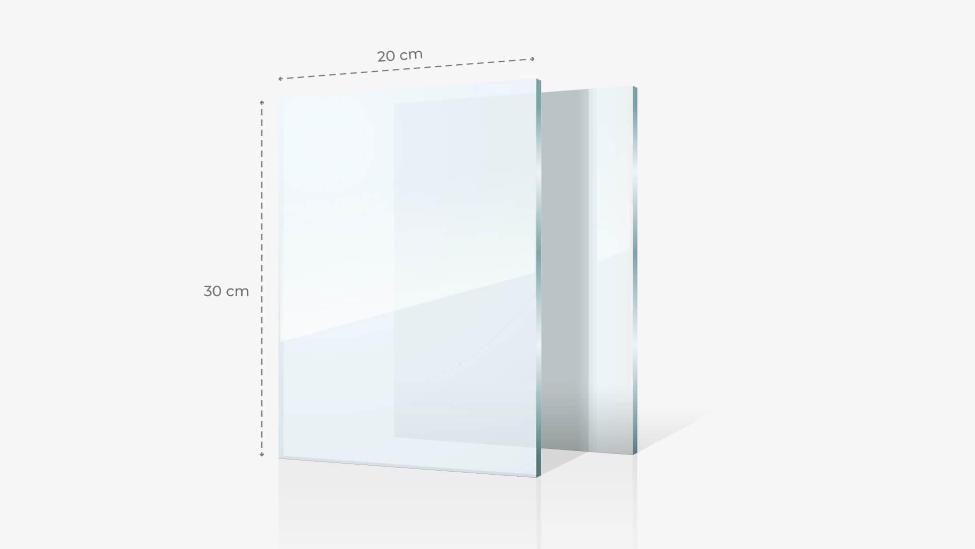 Foto su vetro acrilico 20x30 cm | tictac.it