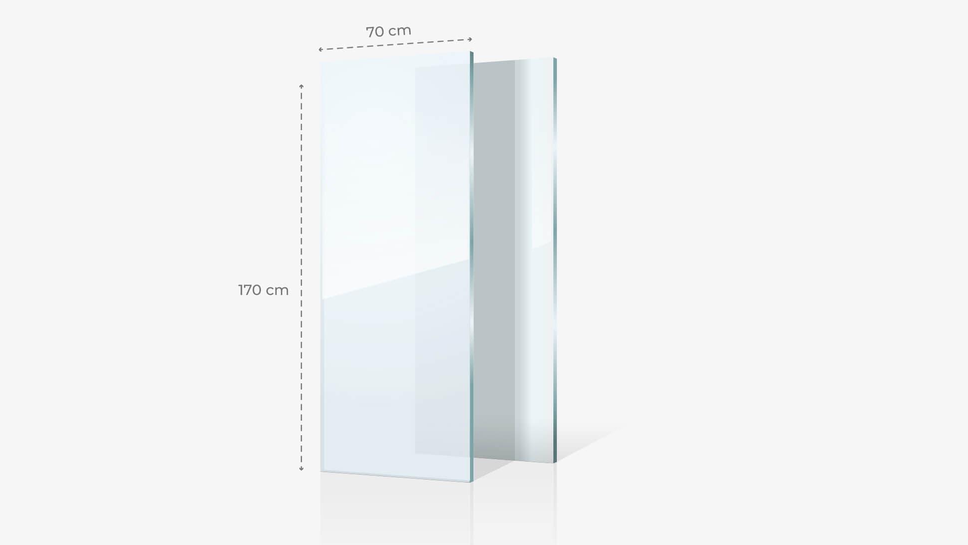 Foto su vetro acrilico 70x170 cm | tictac.it