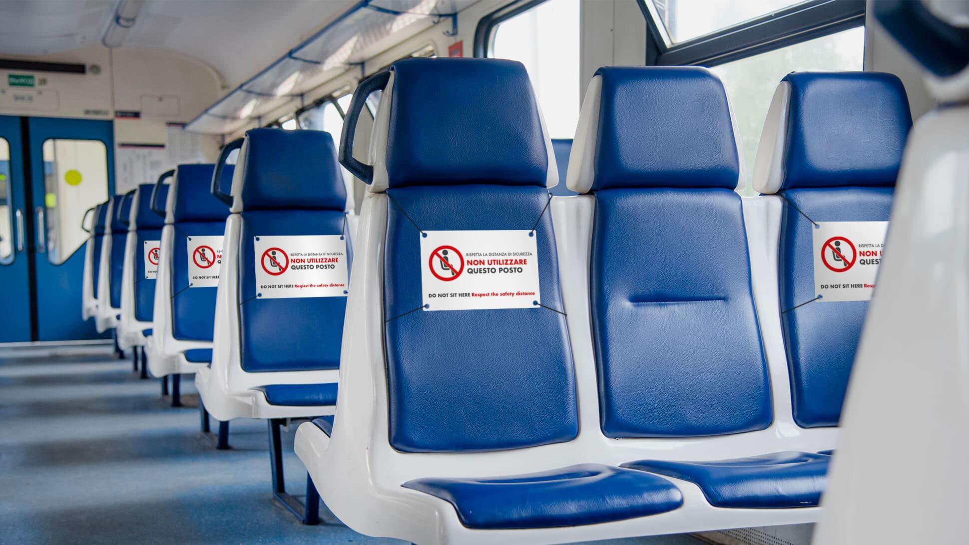 Segnaposto per autobus, treni, luoghi pubblici | tictac.it