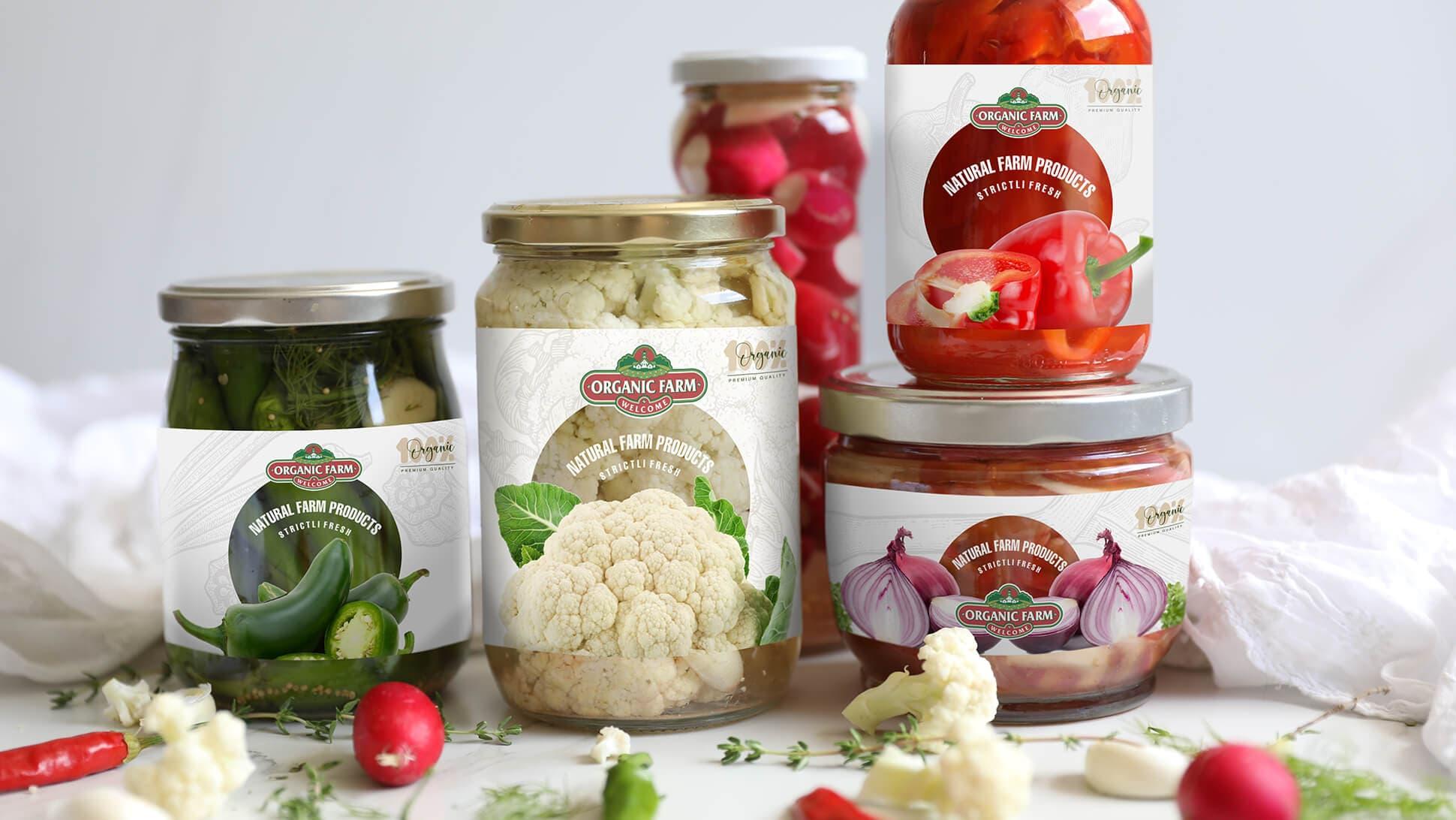 Etichette per barattoli e vasetti per la conservazione alimentare | tictac.it