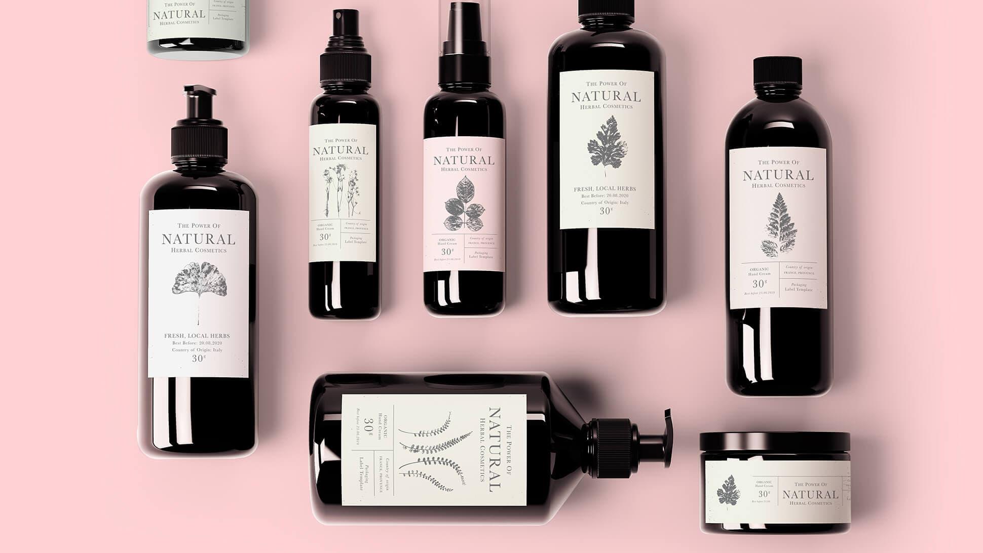 Etichette per barattoli di shampoo, cosmetici, prodotti per la cura personale personalizzabili | tictac.it