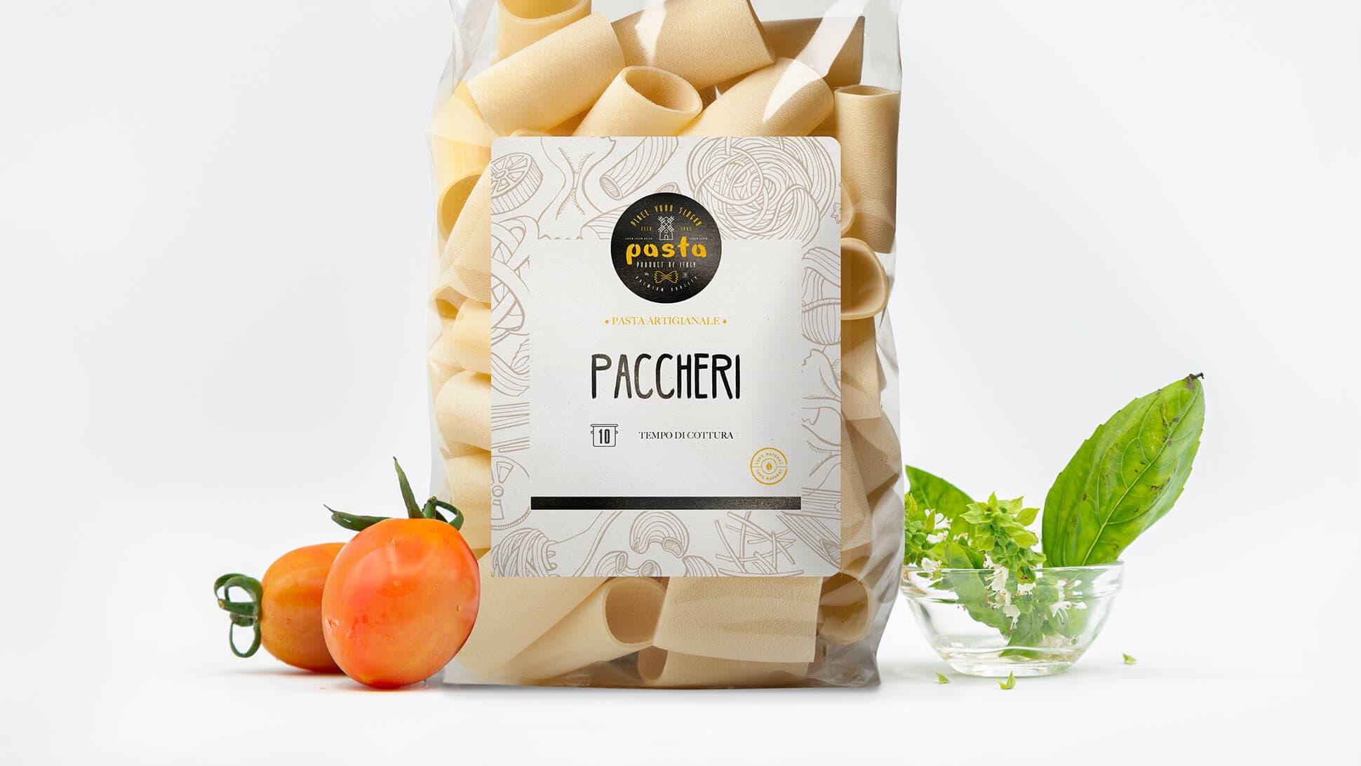 Etichette in carta bianca non patinata per confezioni alimentari | tictac.it