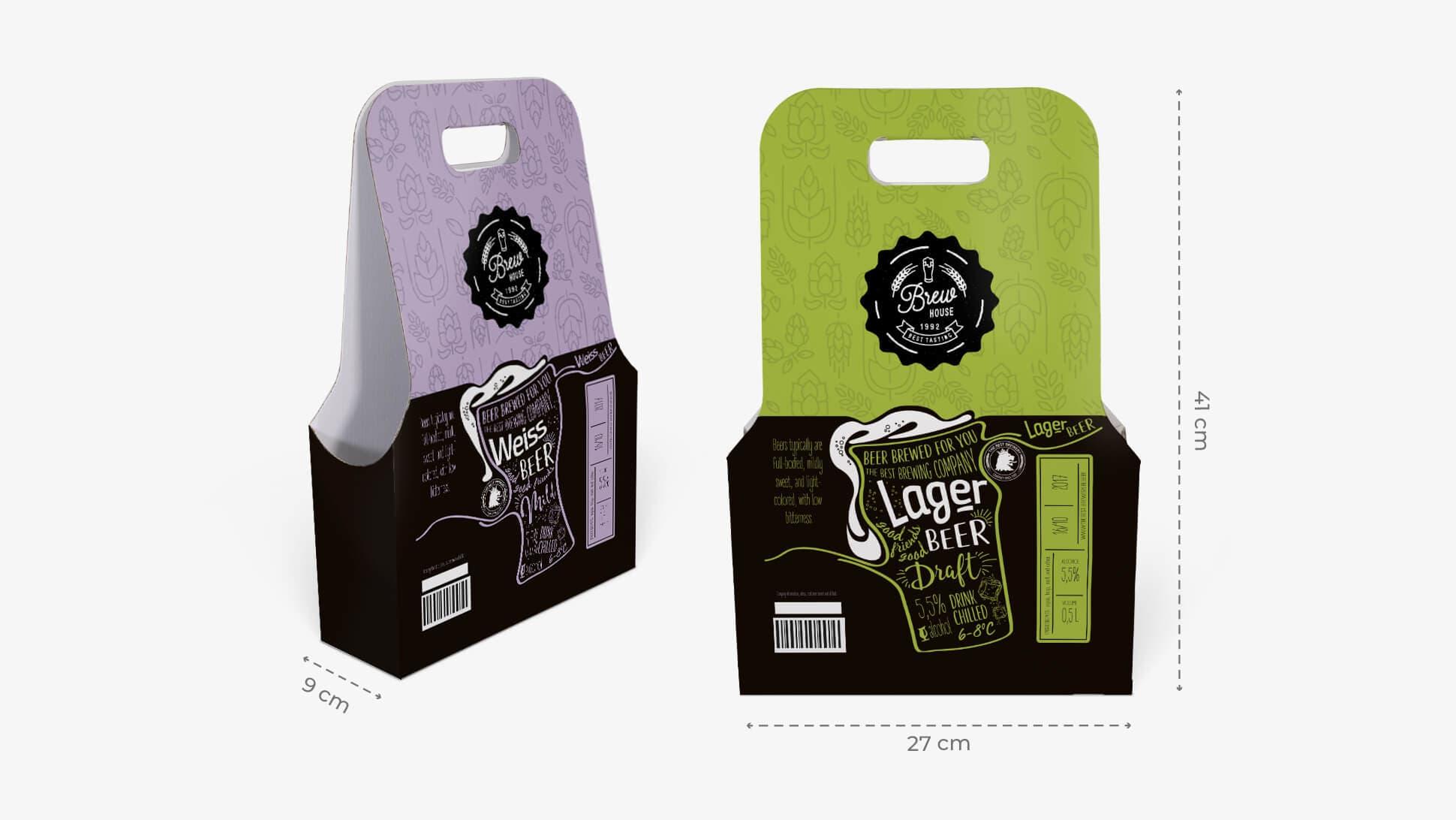 Confezione di tre bottiglie stampata con grafica personalizzabile  | tictac.it