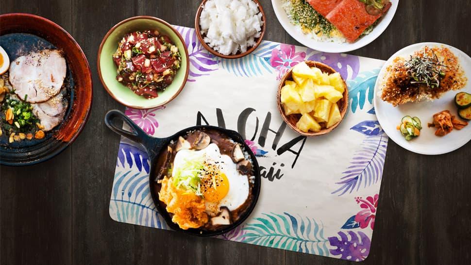 Tovaglietta aloha per serate a tema | tictac.it