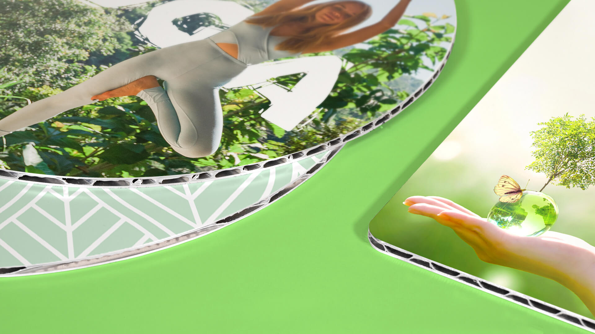 Dettaglio stampa su pannello Smartbond® 3,5 mm | tictac.it