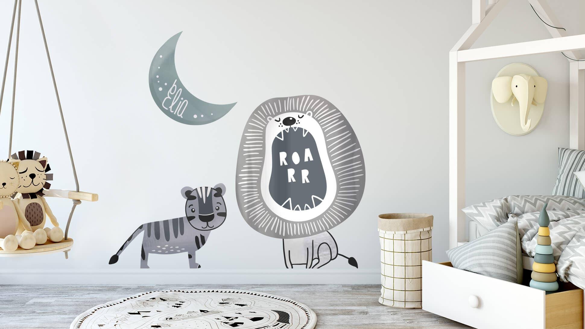 Adesivo per pareti personalizzabili per bambini | tictac.it