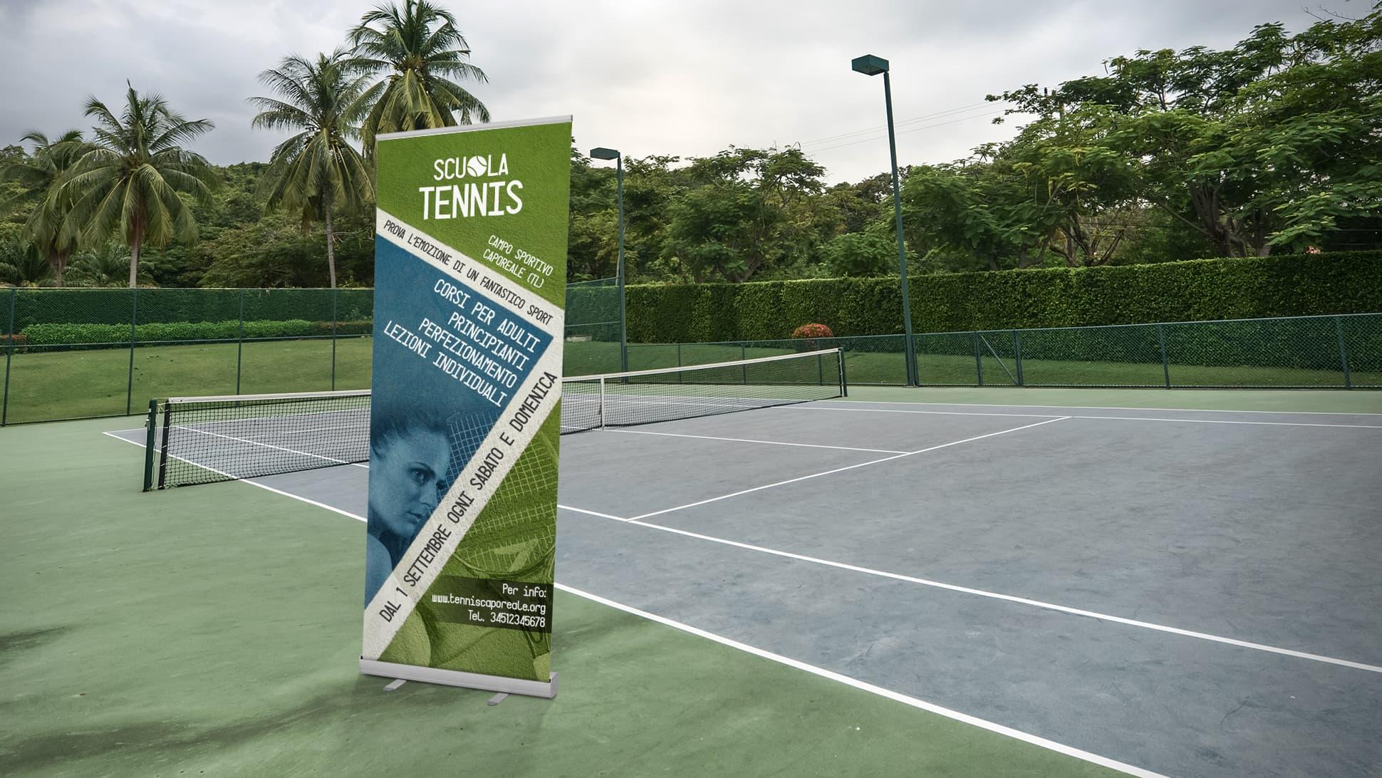 Roll Up Plus a tema sport corsi tennis | tictac.it
