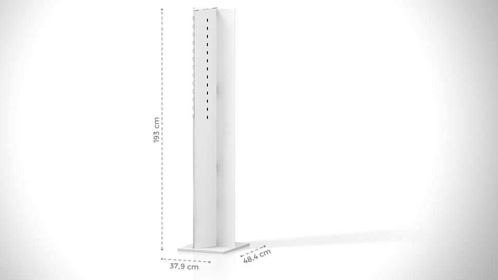 Portaocchiali da terra personalizzabile h193 cm | tictac.it
